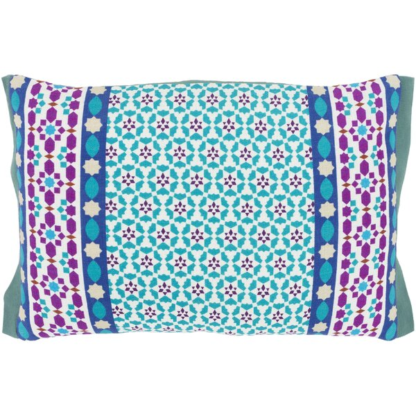 Bruno Square 100% Cotton Throw Pillow by Bungalow Rose